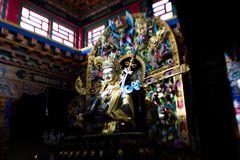 Yatra del Tibet Kailas della gamma di Kailash Himalayas del supporto Fotografia Stock