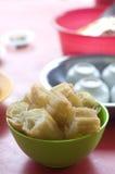 'Yau Char Kuai' (literally translated to 'Oil Fried Ghost'), a. Crispy fried flour Malaysian snack Stock Photo