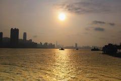 Yau Tong, Lei Yue Mun, Hong Kong stockbild