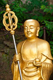 Yaun Chwang sculpture in temple. Garden Stock Photo