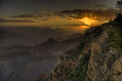 Yavapai Observation Station morning view Royalty Free Stock Image