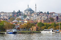 Yavuz Selim meczet i kościół święty Theodosia w Istanbuł Zdjęcia Stock
