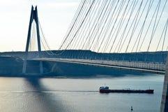 Yavuz Sultan Selim Bridge Royaltyfria Bilder