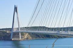 Yavuz Sultan Selim Bridge Royaltyfria Foton