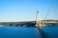 Yavuz Sultan Selim Bridge Arkivfoto