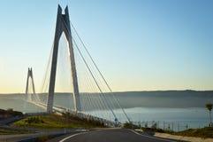 Yavuz Sultan Selim Bridge fotos de archivo libres de regalías