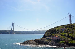 Yavuz Sultan Selim Bridge Images libres de droits