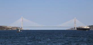 Yavuz Sultan Selim Bridge a Costantinopoli fotografia stock