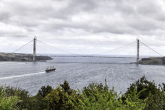 The Yavuz Sultan Selim Bridge Stock Photography