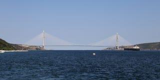 Yavuz Sultan Selim Bridge in Istanbul Stockfoto