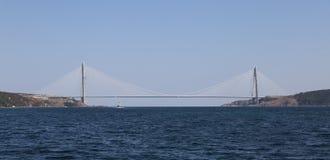 Yavuz Sultan Selim Bridge in Istanbul Royalty Free Stock Photos