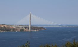 Yavuz Sultan Selim Bridge in Istanbul Stock Photography