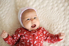 Yawing Girl Royalty Free Stock Photos