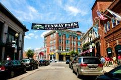 Yawkey Way, Boston, MA. Royalty Free Stock Images