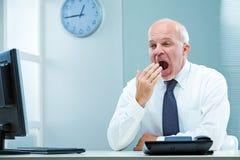 Yawn, I must sleep more! Royalty Free Stock Photo