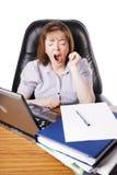 Yawning Royalty Free Stock Photo