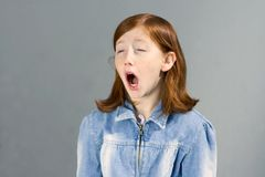 Yawning Stock Photos