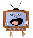 Yawning Tv cartoon Stock Photos