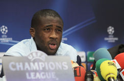Yaya Toure Stock Photography
