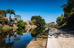 Yayabo River Walkway royalty free stock photos