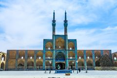 Yazd Old Mosque 01 royalty free stock images