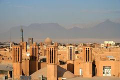 Yazd city Royalty Free Stock Photo