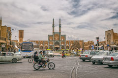Yazd city center Royalty Free Stock Photography