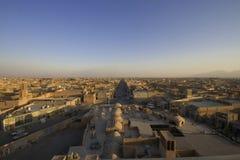 Yazd - die Perle der Wüste Stockbilder