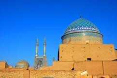 Yazd gammal stad Arkivbild