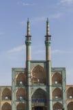 YAZD, IRAN - 7 OCTOBRE 2016 : Amir Chakhmaq Complex dans Yazd, IR Photographie stock