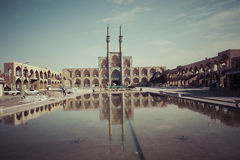 YAZD, IRAN - 7 OCTOBRE 2016 : Amir Chakhmaq Complex dans Yazd, IR Images libres de droits