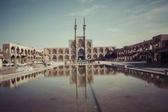 YAZD IRAN, PAŹDZIERNIK, - 07, 2016: Emira Chakhmaq kompleks w Yazd, Ir Obrazy Royalty Free