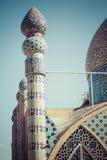 YAZD IRAN, PAŹDZIERNIK, - 07, 2016: Meczet Yazd w Iran Mosqu Obrazy Royalty Free