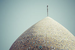 YAZD IRAN, PAŹDZIERNIK, - 07, 2016: Meczet Yazd w Iran Mosqu Zdjęcia Royalty Free