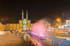 Yazd par nuit Photo stock