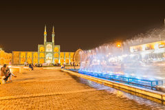 Yazd par nuit Photos stock