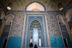 Yazd storslagen moské, Yazd, Iran Royaltyfri Bild