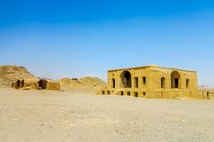 Yazd-Zoroastrian Dakhmeh 02 stockfotografie
