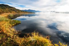 Yazevoe lake in Altai mountains, Kazakhstan Stock Images