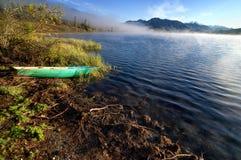 Yazevoe lake in Altai mountains, Kazakhstan Stock Photos