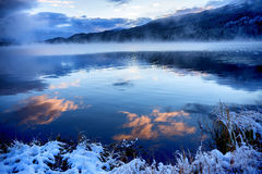 Yazevoe lake in Altai mountains, Kazakhstan Royalty Free Stock Photos