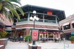 Ybor市Centro,坦帕,佛罗里达 免版税库存照片