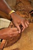 ybor för cigarrstadsrullning Fotografering för Bildbyråer