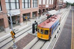 Ybor miasta, Floryda tramwaju samochód Fotografia Stock