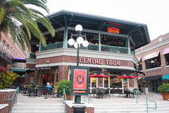 Yborstad Centro, Tamper, Florida Royalty-vrije Stock Foto's