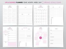 Życia i biznesu planista 2018 Fotografia Stock