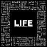 ŻYCIE. royalty ilustracja