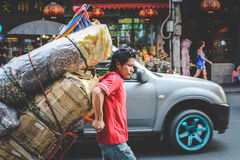 Życie Chinatown Zdjęcie Stock
