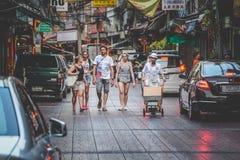 Życie Chinatown Obraz Royalty Free
