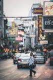 Życie Chinatown Zdjęcia Stock